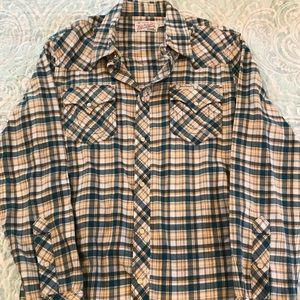 LIKE NEW TRUW RELIGION MEN'S FLANNEL
